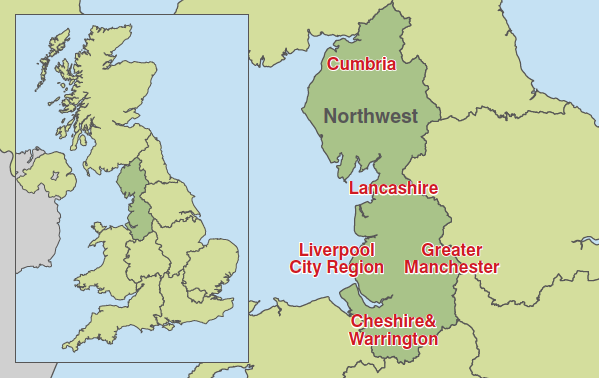 Map - North West